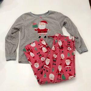 Carters girls Christmas PJs